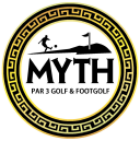 The Myth Par Three Golf Course Logo